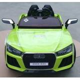 Carro Audi Bailarin Luces Led Rines, Usb,sd,control Remoto