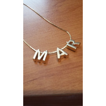 Letras Molde Fabricantes Oro Laminado Abecedario Mayoreo
