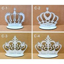 Lembrancinha Coroa Rainha, Rei, Príncipe, Princesa