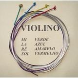 Jogo De Cordas Para Violino 4/4 Mauro Calixto