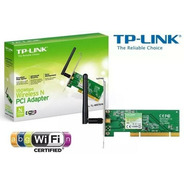 Placa De Rede Tp-link Pci Wireless 150mbps Tl-wn751nd