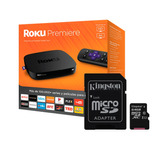 Kit Roku Premiere & Memoria Micro Sd Hc 64gb Kingston