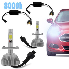 Kit Lampada Super Led Novo 2d 8000k Carro Alta Baixa 12v 24v