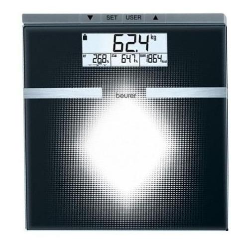 Báscula digital Beurer BG 21 negra, hasta 180 kg