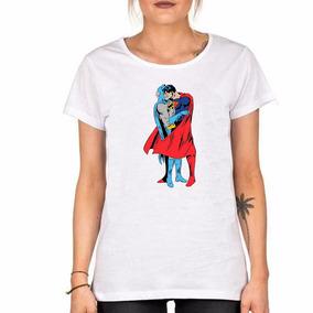 Remera Superman & Batman Kiss Beso Amor Love Orgullo Gay