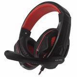 Auricular Gaming Halion X2 Pro C/micrófono Rojo