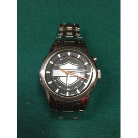 Reloj Bulova Edicion Especial Harley Davidson Se Ilumina