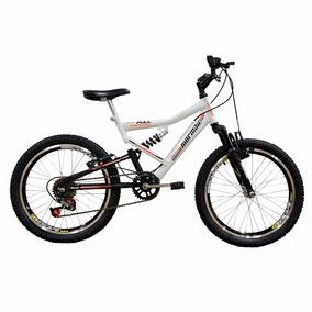 Bicicleta Aro 20 Full Fa-240 Mormaii C/ Suspensão