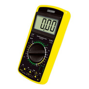Multimetro Tester Digital Pro Ac Dc Data Hold Barovo Display