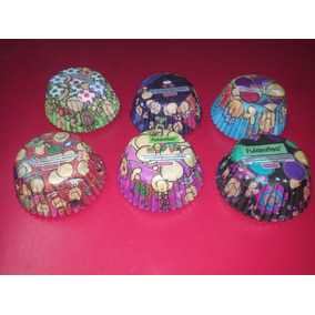 Capacillos Para Cup Cakes No.69 Fulanitos Colores *240 Pzas