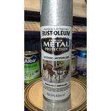Rust Oleum Martillado Plata-negro Antioxido X 340 Gr
