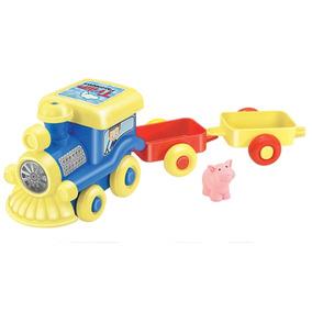 Brinquedo Trenzinho Fazendinha - Tilin