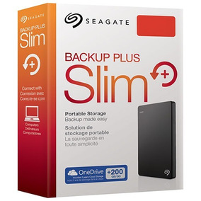 Disco Externo Seagate Backup Slim 2 Tb Pc Mac