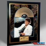 Cuadro Decorativo Michael Jackson Thriller Tipo Disco Oro Lp