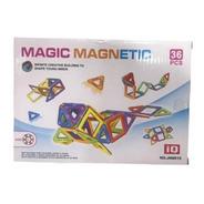 Bloques Magic Magnétic Para Armar X 36 Piezas