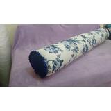 Travesseiro Rolo De Corpo De Espuma 1,20x18cm