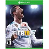 Fifa 18 Xbox One Nuevo Y Sellado Idiomas Español E Ingles