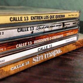 Discografía Completa Calle 13 5 Cds + 1 Dvd