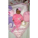 Bebe Reborn Negra Linda Realista Silicone Pronta Entrega