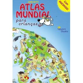 Atlas Mundial Para Crianças - Com Adesivos
