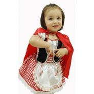 Disfraz Caperucita Roja Hermoso Niña Disfraces Tiernos
