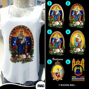Franelillas Virgen Chinita, Virgen Chiquinquira, Estampados