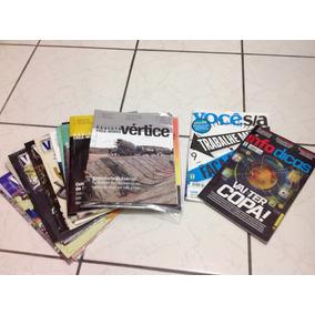 Revistas: 1 Você S/a, 1 Infodicas, 18 Vértice Crea