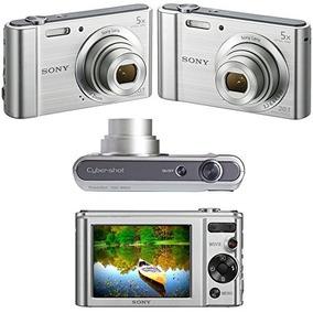 Câmera Digital Sony Dsc W800 20.1mp 5x Prata