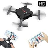 Mini Drone Cuadricoptero Camara 2mp Hd Control C/ 2 Baterias