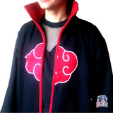 Capa Akatsuki Abrigo Itachi Cosplay Disfraces Anime Naruto