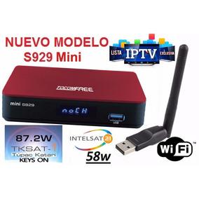 Tocomfree Mini S929 Hd Full Iptv Incl.wifi(del Importador)