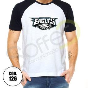 Camisa Nfl Feminina Eagles - Camisas no Mercado Livre Brasil f6075061f752e