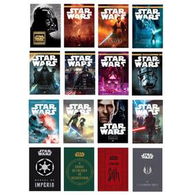 Kit Livros - Star Wars (16 Livros) #