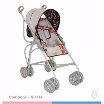 Carrinho De Bebê Passeio Reversível Campora Girafa Galzerano