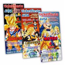Diseño De Invitaciones Imprimibles Dragon Ball Goku