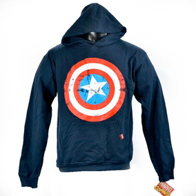 Capitan America Marvel Comics Sudadera 100% Original