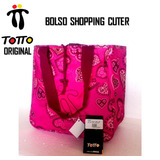 Bolso Totto Original Shopping Cuter Con Bolsillo Interno