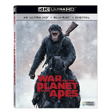 4k Blu-ray : War For The Planet Of The Apes (with Blu-ra...