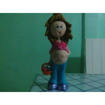Fofucha De Ceramica Para Recuerdo De Baby Shower