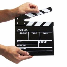 Claquete De Cinema Quadro Decoração Filmes Estudio