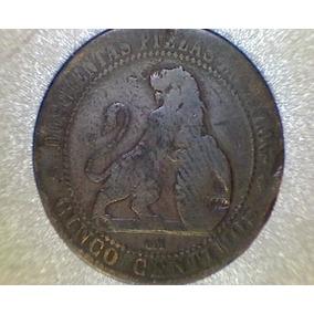 Lucas Col España Moneda 5 Centimos 1870