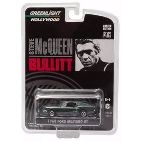 Mustang Bullit De Steve Mcqueen 1/64 Greenlight Hollywood