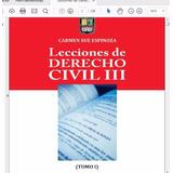 Libro De Derecho Civil Iii Obligaciones Pdf