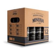 Cerveza Minerva Stout 12 Pack
