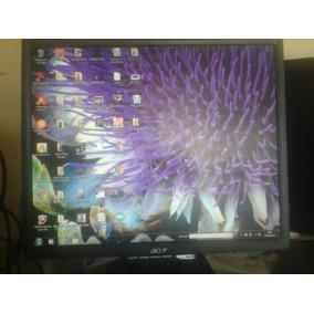 Monitor Acer Lcd 18,5 Pulg Usado