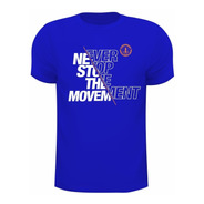 Camiseta Dry Fit De Poliamida  Com Uv50+ Never Stop