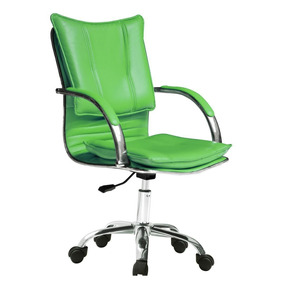 Silla Ejecutiva Oficina Verde 12 Pagos S/rec Envio Gratis