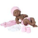 African American Black Baby Doll, La Recién Nacido, Berengu