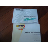 Manual Propietário Original Yamaha Cripton Ano 2000