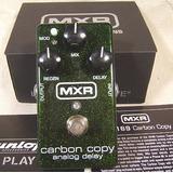 Mxr Carbon Copy Analog Delay Pedal Efecto